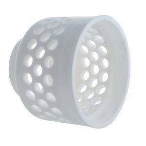 Material: Kunstoff PTFE | Abmaße: Länge 140mm, Ø 160mm