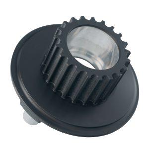 Material: Aluminium | Abmaße: Länge 42mm, Ø 58mm | Oberfläche: Harteloxiert