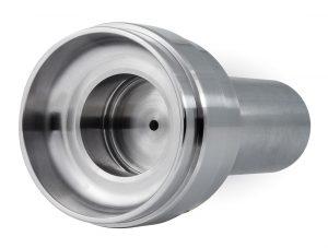 Material: Edelstahl | Abmaße: Länge 174mm Ø 80mm | InnenØ 40K6 und AußenØ 75k6 und 80k6 geschliffen
