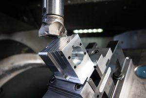 CNC-Fräsvorgang
